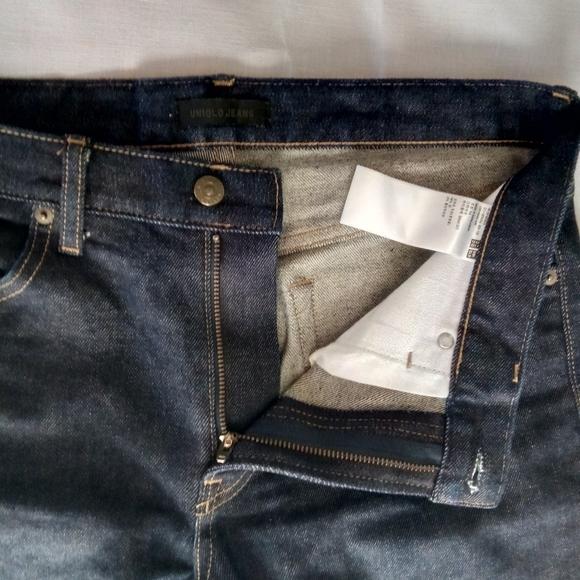 Uniqlo Denim - Uniglo slim straight Jeans
